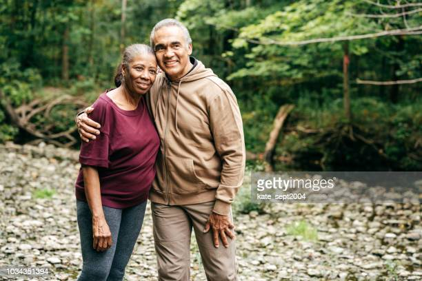 active seniors spending time together - nosotroscollection stock pictures, royalty-free photos & images