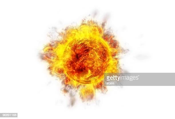 active sun white - solar flare stock pictures, royalty-free photos & images