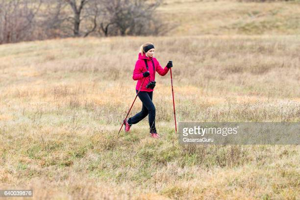 Active Young Woman Enjoy Discovering The Planteau