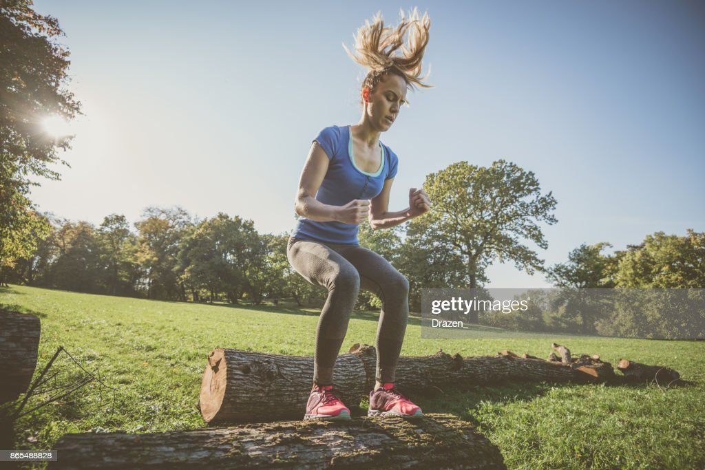Portrait Of A Mixed Race Young Woman Outdoor High-Res