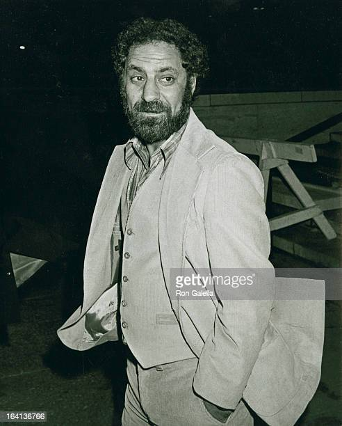 Activist Abbie Hoffman attends the opening of The New York Film Festival on September 26 1980 in New York City