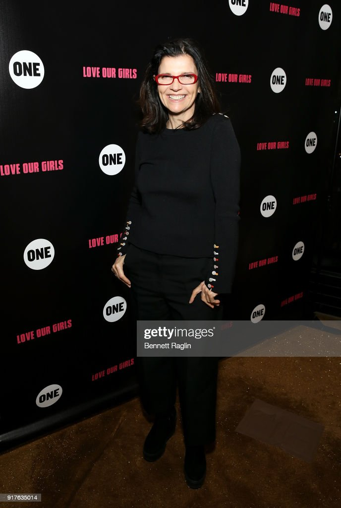 Activist Ali Hewson attends the Danai x One x Love Our Girls celebration at The Top of The Standard on February 12, 2018 in New York City.