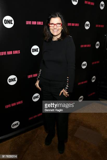 Activist Ali Hewson attends the Danai x One x Love Our Girls celebration at The Top of The Standard on February 12 2018 in New York City
