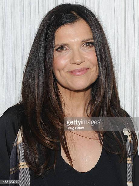 Activist Ali Hewson attends the Edun Spring 2016 fashion show during New York Fashion Week at Spring Studios on September 13 2015 in New York City