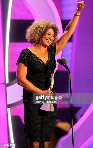 Activist Angela Davis attends Black Girls Rock! 2011 at the Paradise Theater on October 15, 2011 in New York City.