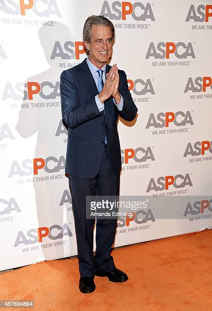 Activist Bobby Shriver arrives at the ASPCA cocktail party honoring Kaley CuocoSweeting and Nikki Reed with ASPCA Compassion Awards at a private...