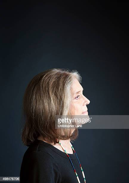 Activist Gloria Steinem is photographed for The Guardian Newspaper on October 7 2015 in New York City PUBLISHED IMAGE