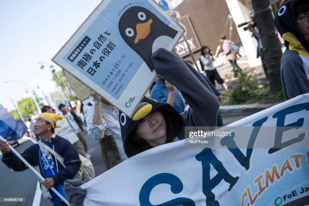 Annual Earth Day 2018 in Tokyo