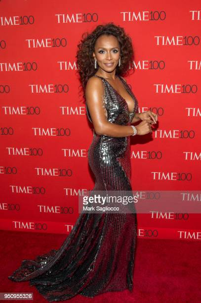 Activist Janet Mock attends the 2018 Time 100 Gala at Frederick P Rose Hall Jazz at Lincoln Center on April 24 2018 in New York City