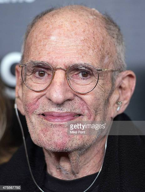LGBT activist Larry Kramer attends the Larry Kramer in Love and Anger New York Premiere at Time Warner Center on June 1 2015 in New York City