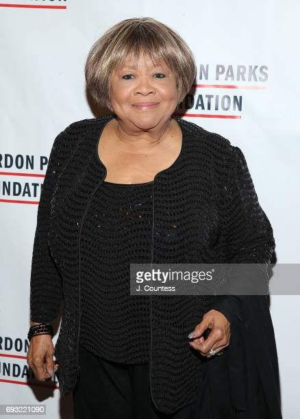 Activist Mavis Staples attends the 2017 Gordon Parks Foundation Awards Gala at Cipriani 42nd Street on June 6 2017 in New York City