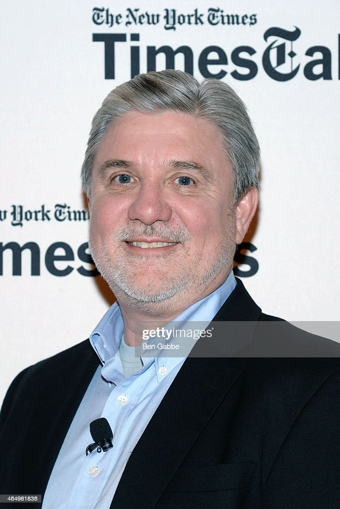 Activist Mike Rinder attends TimesTalks Presents An Evening With 'Going Clear: Scientology and the Prison of Belief' at The Times Center on March 2, 2015 in New York City.