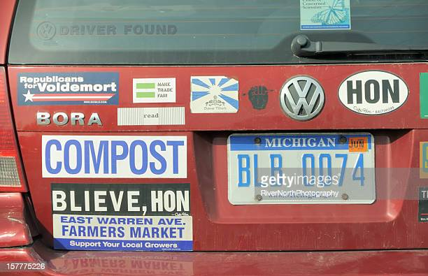 activist - bumper sticker stock photos and pictures