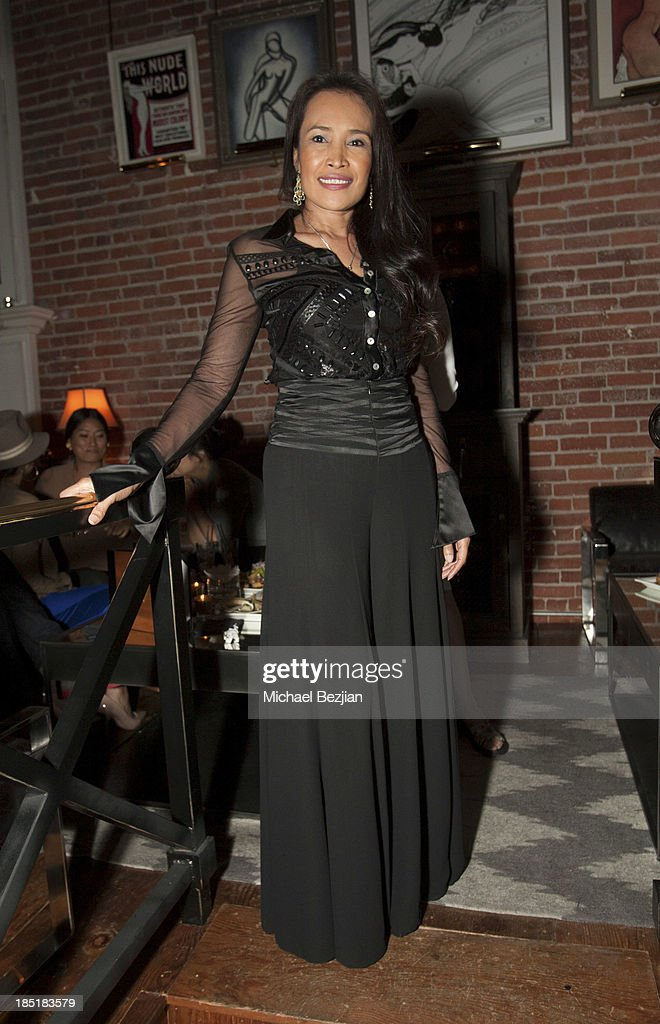 Activist Somaly Mam attends Songs Of Hope Event Benefiting The Somaly Mam Foundation on October 17, 2013 in Hollywood, California.