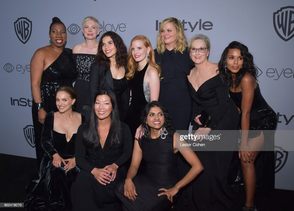 Warner Bros. Pictures And InStyle Host 19th Annual Post-Golden Globes Party - Arrivals : News Photo