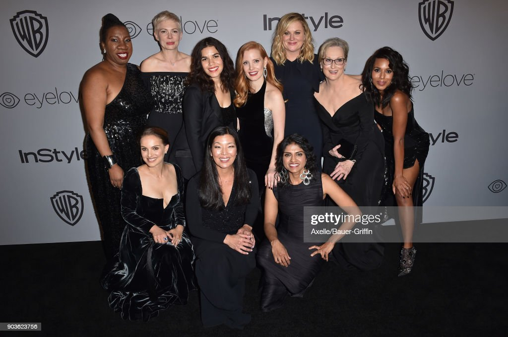 Warner Bros. Pictures And InStyle Host 19th Annual Post-Golden Globes Party : News Photo