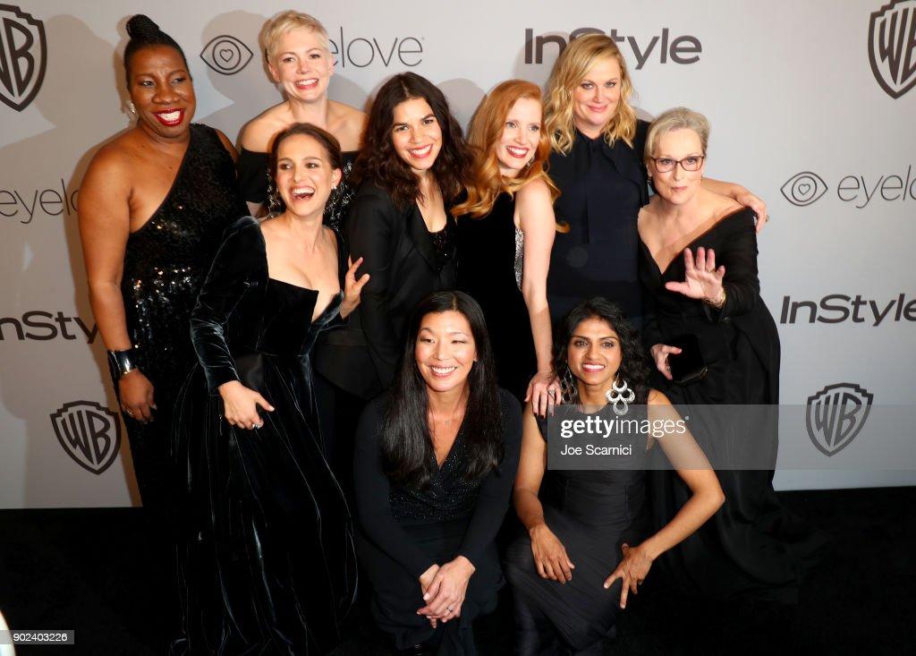 The 2018 InStyle And Warner Bros. 75th Annual Golden Globe Awards Post-Party - Red Carpet : Fotografía de noticias