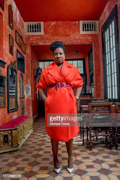 Activist Tarana Burke is photographed for Essence Magazine on July 19, 2018 in Los Angeles, California.