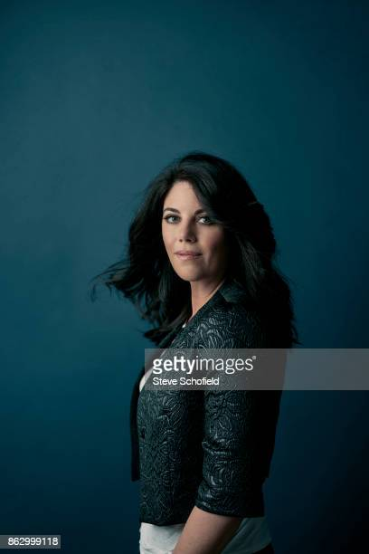 Activist television personality fashion designer and former White House intern Monica Lewinsky is photographed for the Guardian Newspaper on March 1...