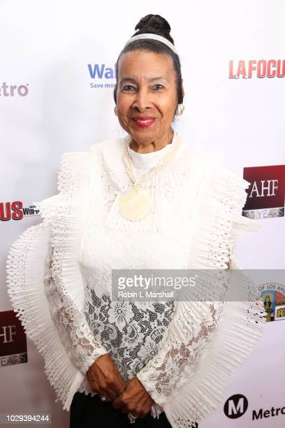Activist Xernona Clayton attends the 21st Annual First Ladies High Tea at The Beverly Hilton Hotel on September 8 2018 in Beverly Hills California