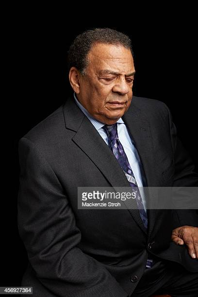 Activist/politician Andrew Young is photographed for Fortune Magazine on January 14 2014 in New York City