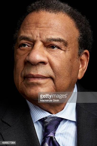 Activist/politician Andrew Young is photographed for Fortune Magazine on January 14 2014 in New York City PUBLISHED IMAGE