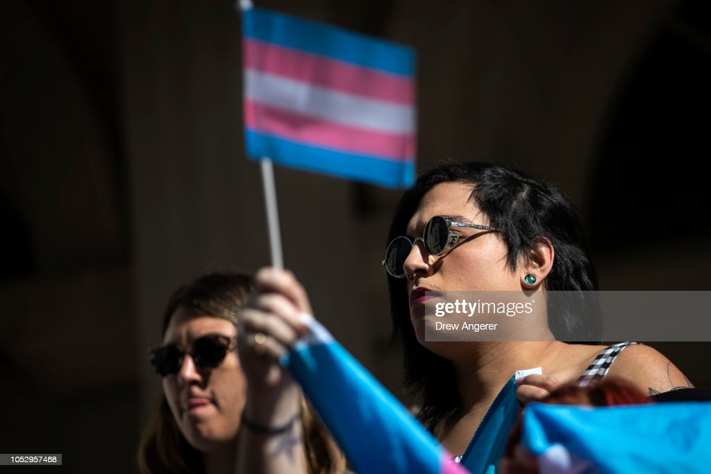 Rally Held In Support Of Transgender Community : News Photo