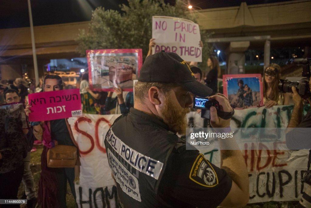 ISR: Israel Eurovision Activist Protest