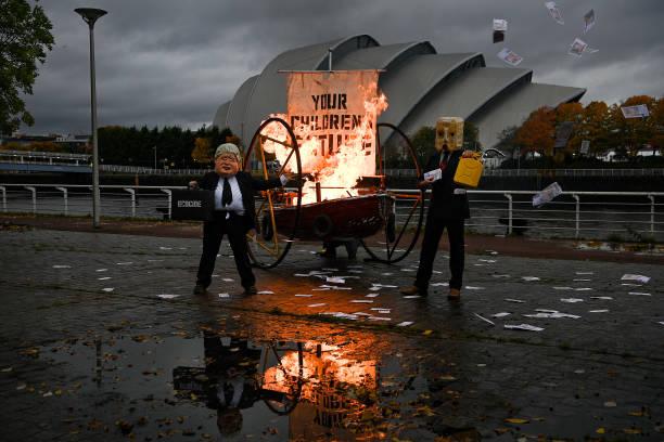 GBR: 'Ocean Rebellion' Protest In Glasgow Highlights Degradation Of Seas