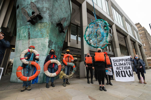 GBR: 'Save Our Seas' Demonstration In London
