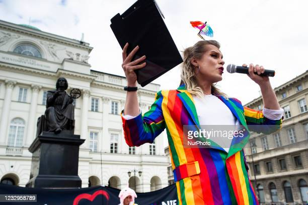 Activists gathered downtown in Warsaw, Poland, on May 17, 2021 with a rally celebrating International Day Against Homophobia. What made it special...