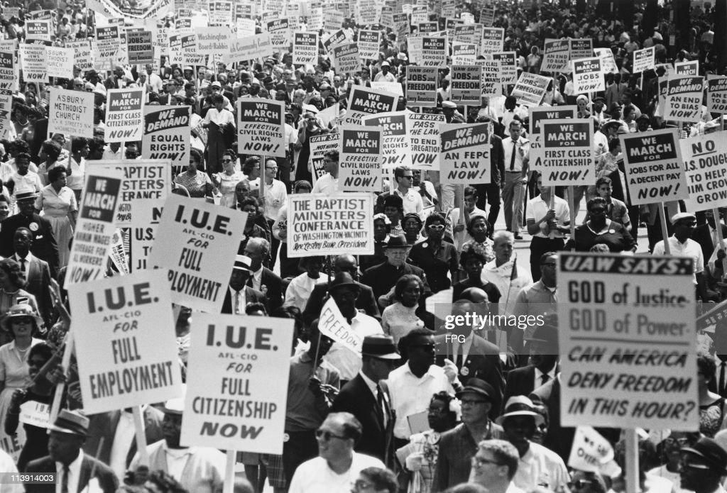 March On Washington : News Photo