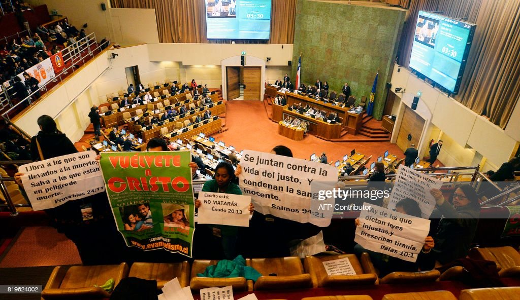 CHILE-ABORTION-LAW : News Photo