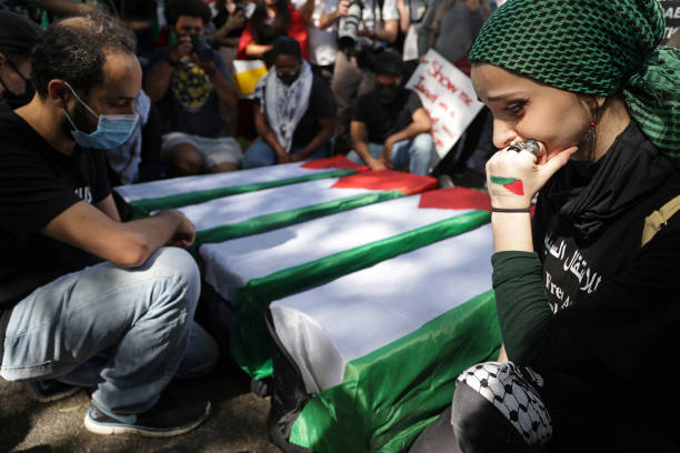 DC: Activists Protest Israel's Military Actions Against Palestinians
