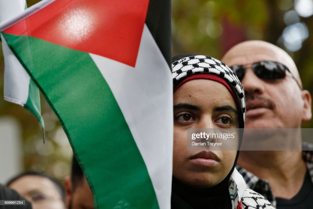 Palestinians, Activists March In Melbourne To Commemorate Nakba