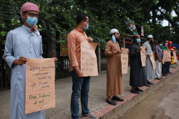 BGD: Protest Against Digital Security Act In Bangladesh