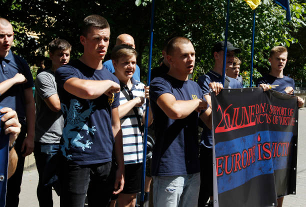 UKR: Far Rights Protest PACE Decision On Russia