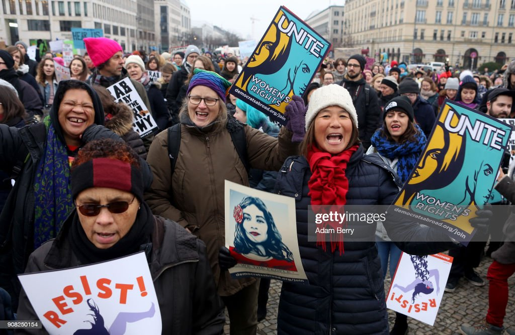 2018 Women's March In Berlin