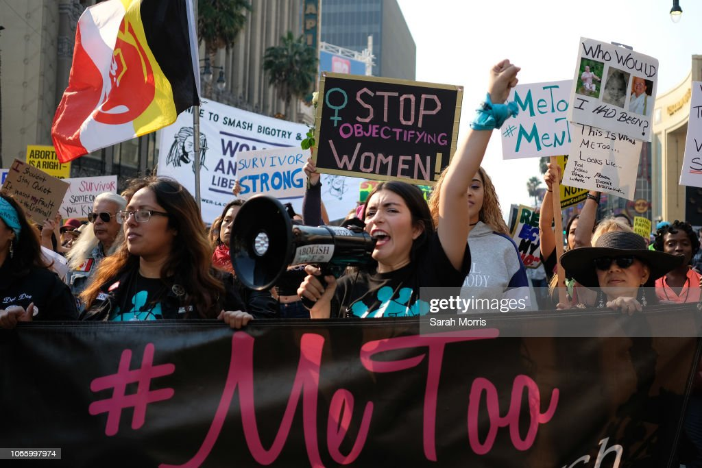 2018 #MeToo March : News Photo