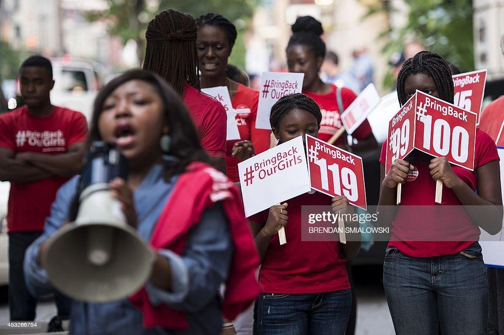 US-AFRICA-SUMMIT-NIGERIA-PROTEST : News Photo