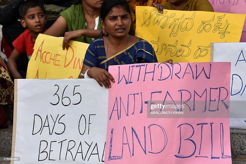 INDIA-POLITICS-PROTEST : News Photo