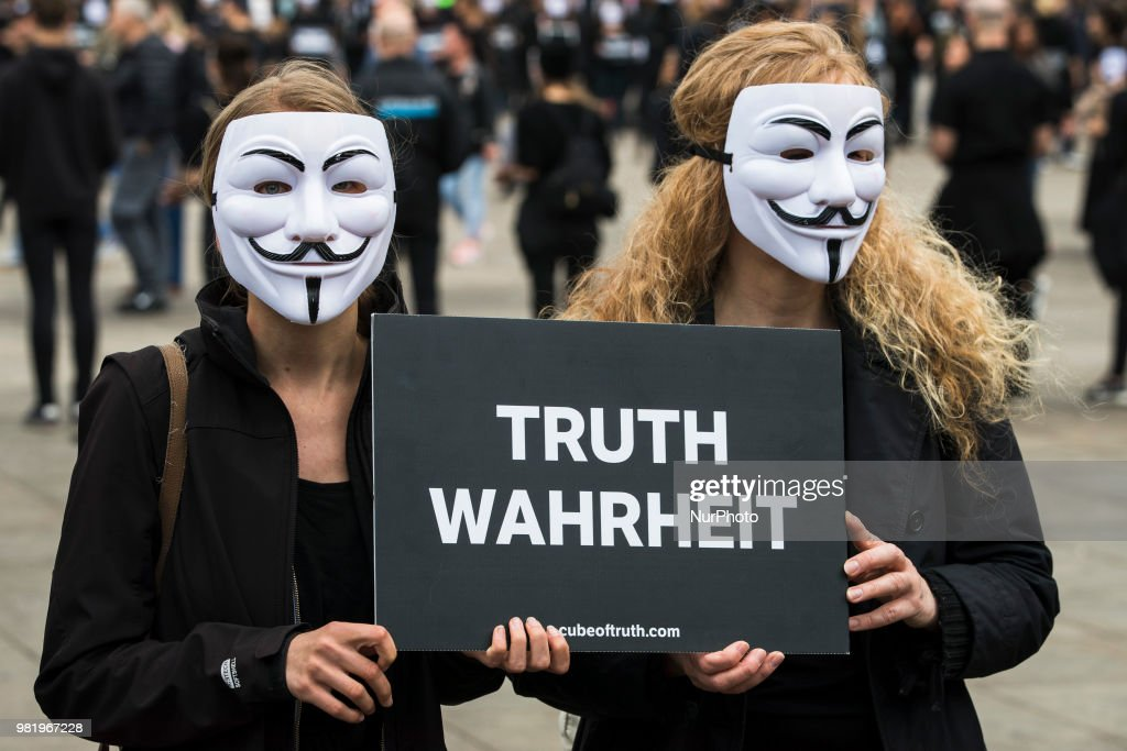 '24 Hours of Truth' Action At Alexanderplatz In Berlin