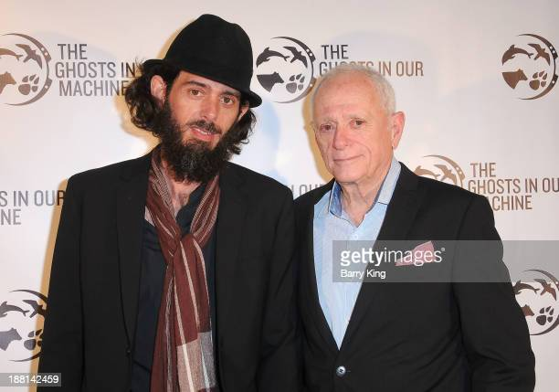Activists/filmmakers Lincoln O'Barry and Ric O'Barry attend 'The Ghosts In Our Machine' - Los Angeles Premiere on November 15, 2013 at Laemmle's...