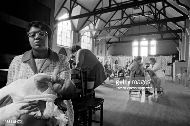 Activities at a Child Care Centre in West London, circa June 1969. From a series of images to illustrate the many frustrations of living in Britain...