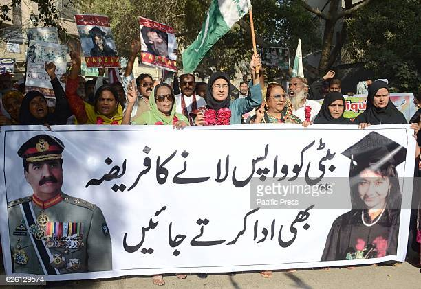 CLUB HYDERABAD SINDH PAKISTAN Activities of Pasban with Dr Fozia Siddique sister of Dr Afiya Siddique holds a protest in favor of Dr Afiya she is in...