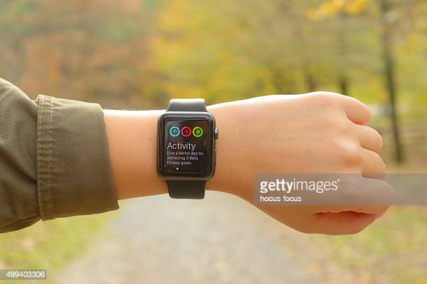 Aktivität Bildschirm auf Apple Watch