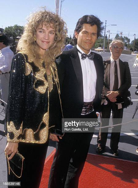Actor A Martinez and wife Leslie Bryans attend the Happy Birthday Bob 50 Stars Salute Your 50 Years with NBC Television Special Celebration on May 1...