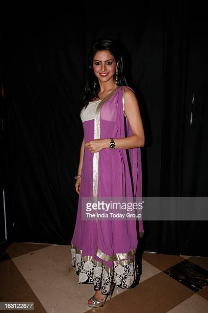 TV actor Aamna Sharif during the launch of new tele series Ek Thi Naayka