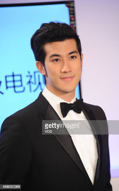 Actor Aarif Lee attends the 4th LETV Award Ceremony at China World Summit Wing on December 19 2013 in Beijing China