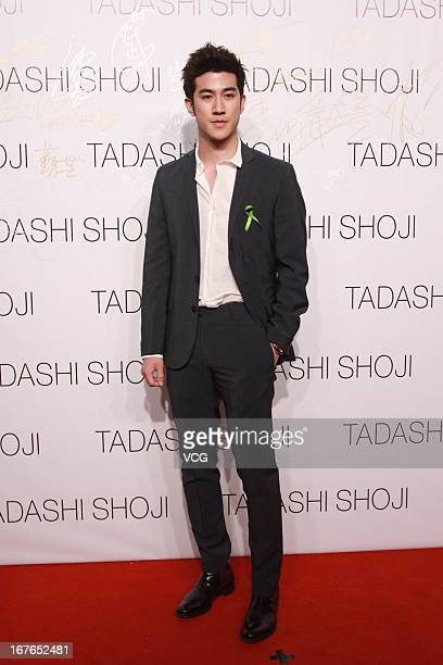 Actor Aarif Lee attends the Tadashi Shoji Beijing Store Grand Opening at Beijing Parkview Green on April 26 2013 in Beijing China
